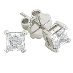 Desert-Diamonds---Solitaire-Earrings-4-Prong-Princess-Stud
