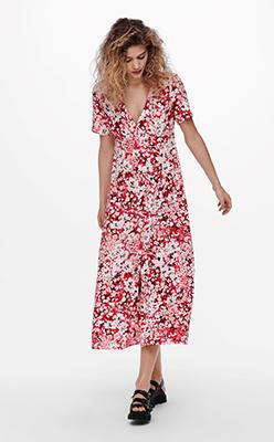 BORN---Nola-Short-Sleeve-Floral-Midi-Dress
