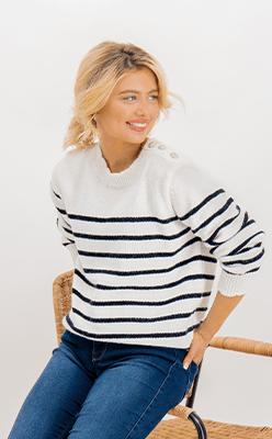 BORN---Hayden-Cream-Striped-Knit