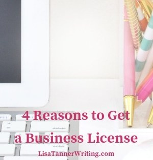 Here are four reasons I opted to get a business license as a freelance writer and VA.