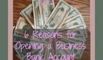 6 Reasons for Opening a Business Bank Account