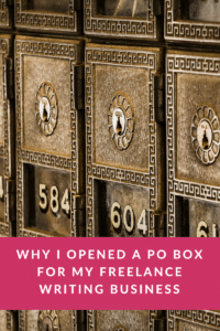 Do you need a PO Box for your business? No. But here's why I opened one anyways.