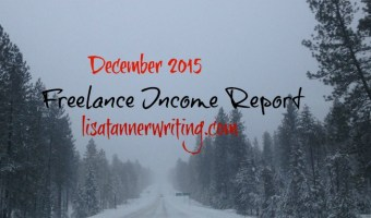December 2015 Freelance Income Report