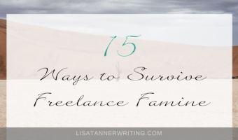 15 Ways to Survive Freelance Famine