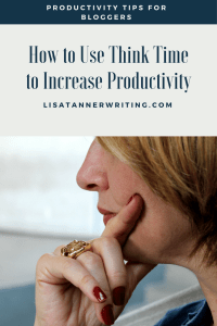 Are you using think time? It's an easy way to improve your freelance productivity.