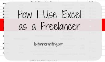 How I Use Excel as a Freelancer