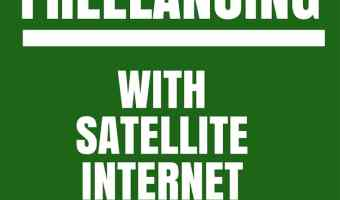 Freelancing with Satellite Internet