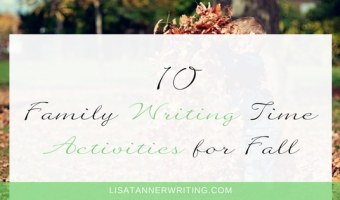 10 Family Writing Time Activities for Fall