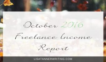 October Income Report: 2016