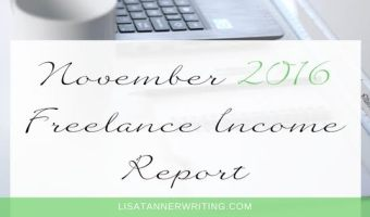 November 2016 Freelance Income Report