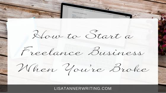 Starting a business when you're broke is challenging. But, it's not impossible. Here's the steps I used to help pull my family out of poverty through writing.