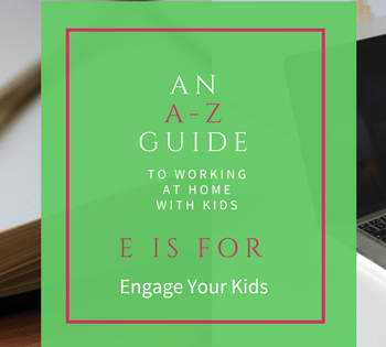 To avoid messes and bad behavior, it's essential to engage your kids when you're trying to work. Here are some simple suggestions.