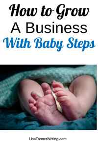 Baby steps won't race you to your destination, but they will eventually get you there! Here's how to use consistent small steps to grow.