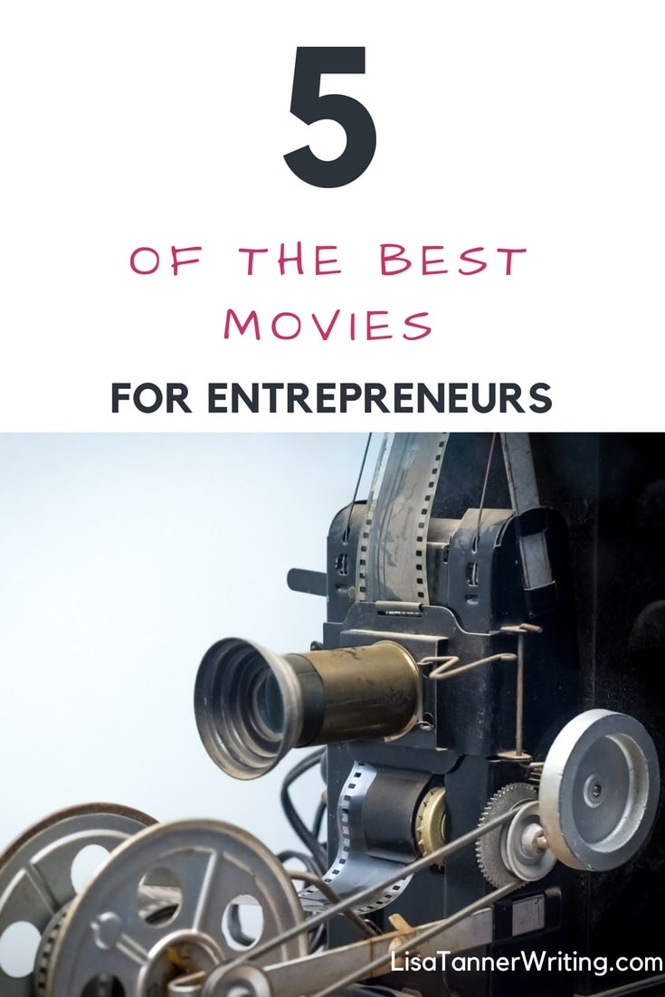 Here are five of the best movies for entrepreneurs. #entrepreneur
