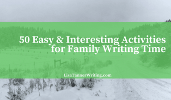 50 Easy & Interesting Winter Activities for Family Writing Time