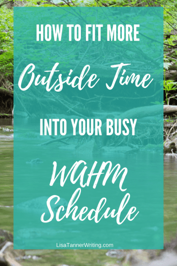 Wondering how to fit more outside time into your busy schedule this summer? Here are some tips.