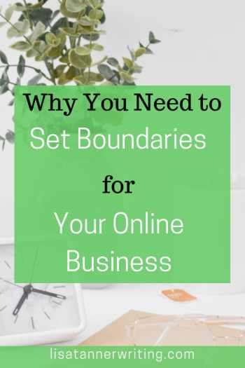 Have you set boundaries for your online business? You should! Click through to see how and why it's importnat. #worklifebalance #momboss