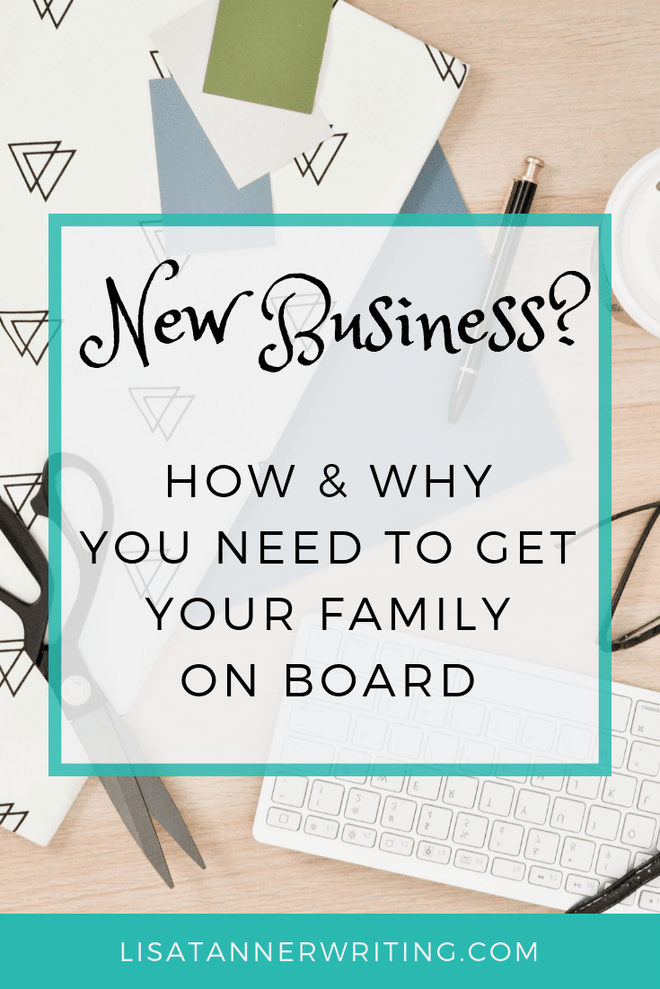 Why you need your family's support as a WAHM plus how to get it. #WAHM #mompreneurlife