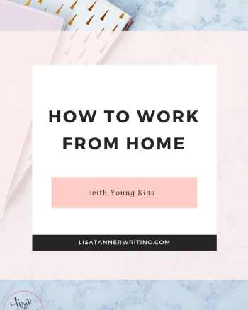 You can work from home even if your kids are all little.