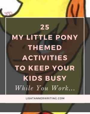 My Little Pony themed activities