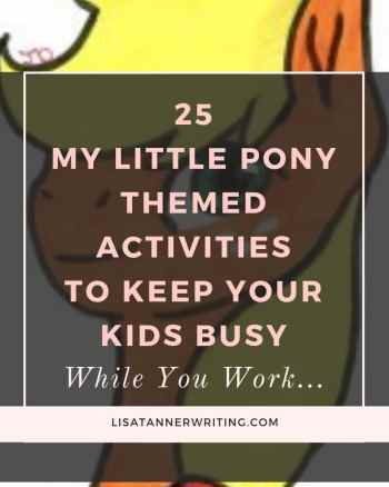 My Little Pony themed activities