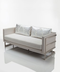 Lobby Club Love Seat by Lisa Taylor Designs