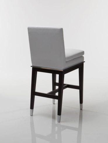 Taylor Wood Steel Bar Stool
