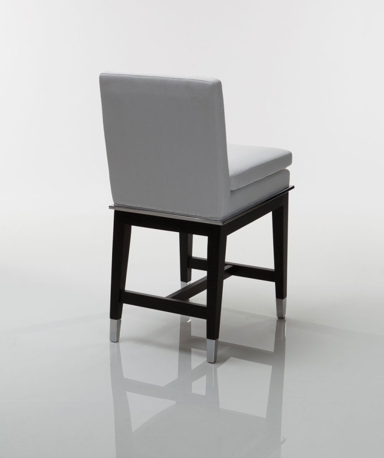 Taylor Wood Steel Counter Stool