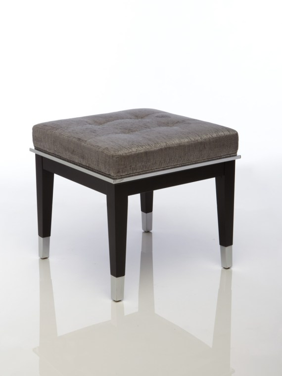 Taylor Wood Steel  Small Bench