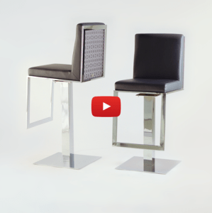 Lisa Taylor Designs - Lobby Swivel Stools Video