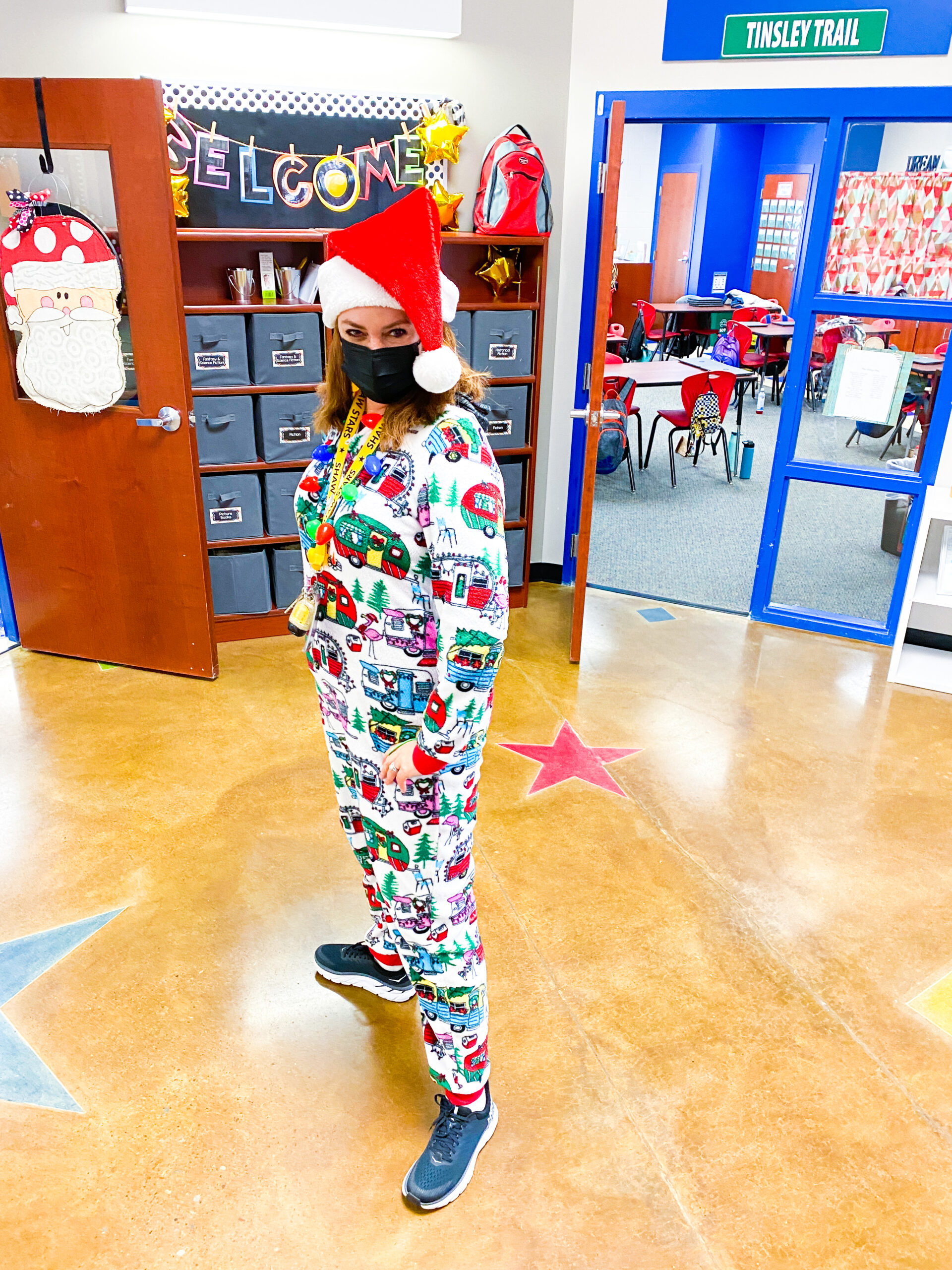 PJ Day in Elementary Classroom