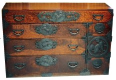 The sandai chest traveled with the author's grandfather, Charles Kilbourne, around the world throughout his distinguished military career. The hefty chest carried his essentials and had, his granddaughter eventually discovered, a secret compartment.
