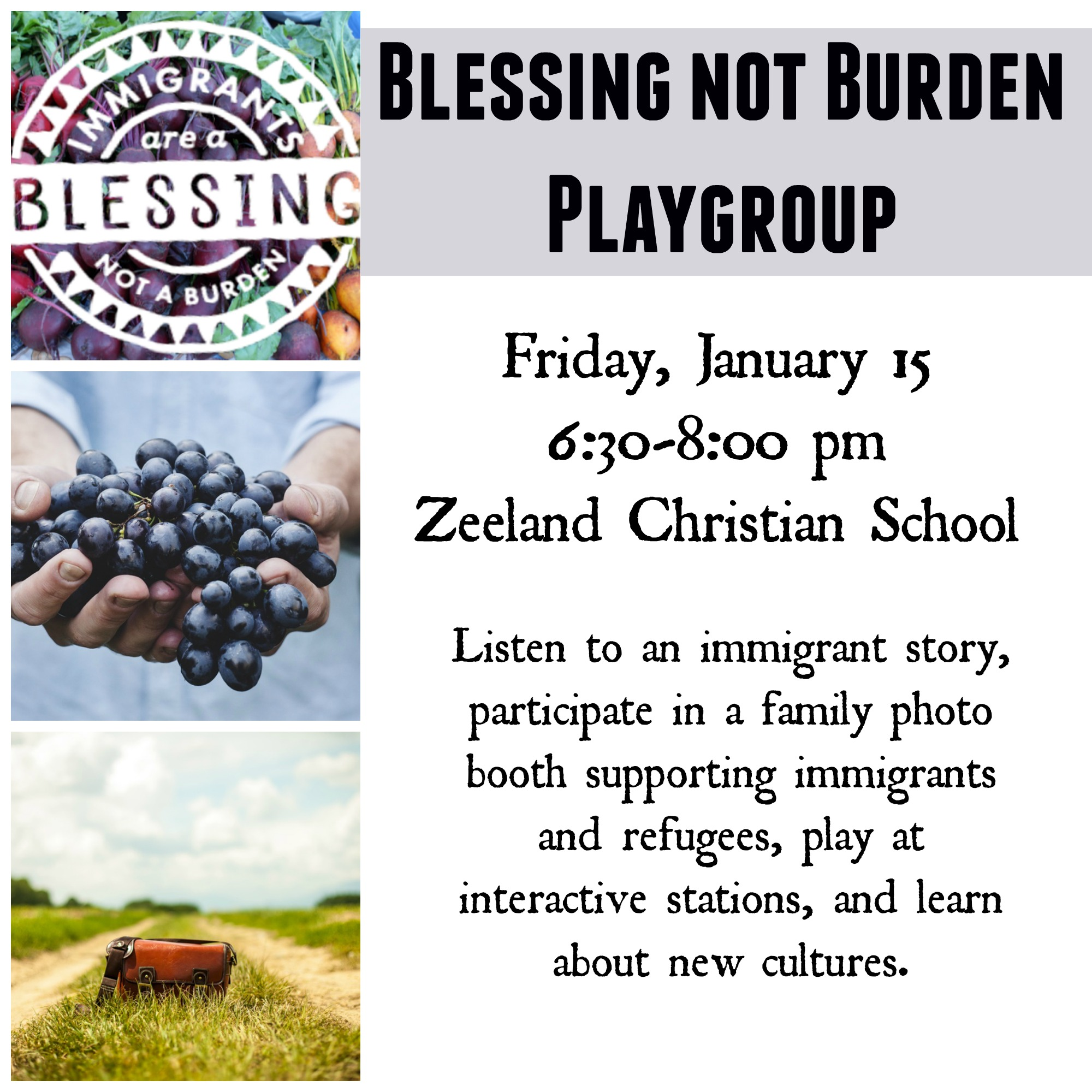 Come Out For The First Playgroup Of 2016!