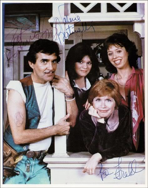 """At far right, MacKenzie Phillips from a publicity photo for the 80s TV sitcom, """"One Day at a Time."""" MacKenzie Phillips is best known for her roles as an emotionally troubled and rebellious teenager."""