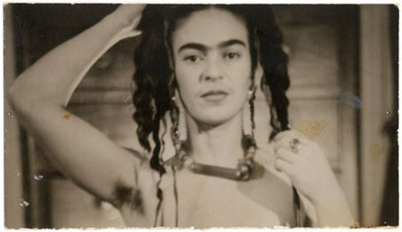 Frida Kahlo photographed by New York art dealer, Julien Levy (1938)