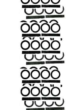 Letterpress zero