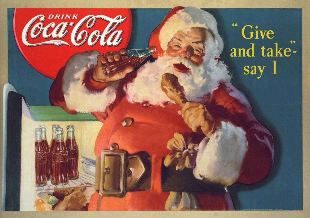 Julenissen er skapt av Coca Cola Company (3/4)