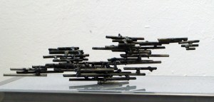 No title, experiment, 2009, steel