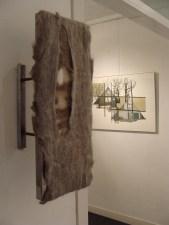 No title, experiment, 2009. Felt, steel