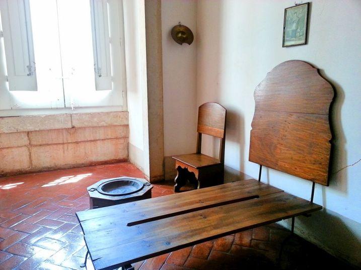 Cellule de moine - Mafra