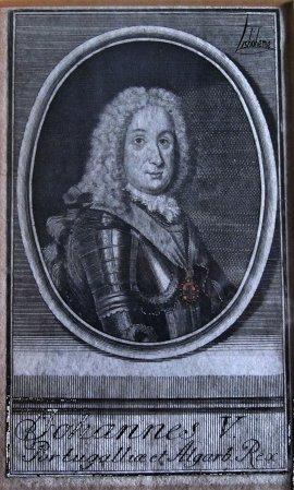 Portrait de D. João V Mafra