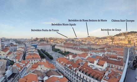 Les Belvédères de Lisbonne – Méga itinéraire