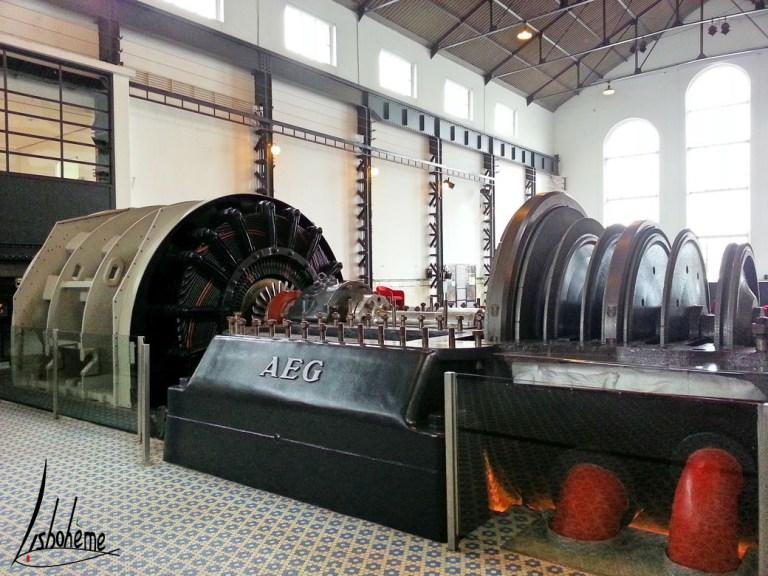 Musée de l'Electricité - Alternateur