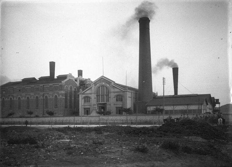 Centrale Tejo dans les annés 1910. Musée de l'Electricité
