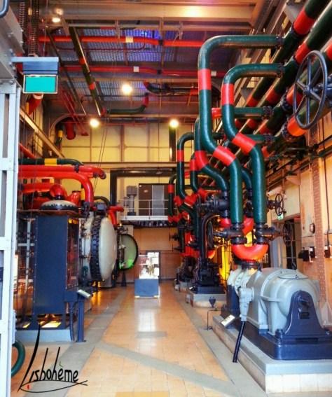 Musée de l'Electricité - Salle des machines