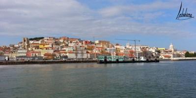 Colline du château São Jorge, croisière sur le Tage.