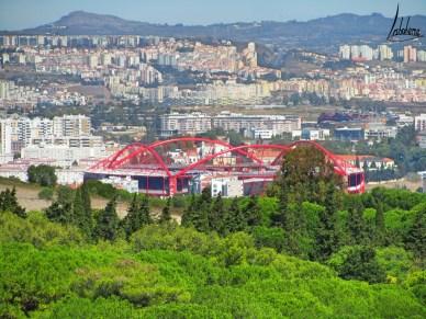 Le stade du Benfica