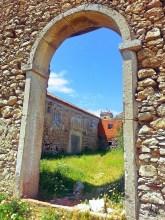 Entrée du théâtre , sanctuaire du Cap Espichel