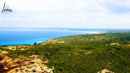 Vue sur la Costa da Caparica