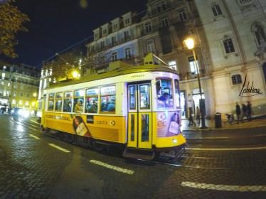 Tramway Chaido nuit